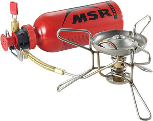 MSR Whisperlite Liquid Fuel Stove