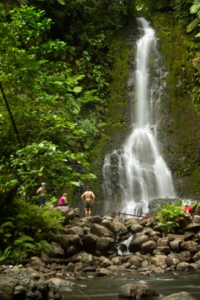 Nan Emp Waterfall, Pohnpei, Federated States of Micronesia (FSM)