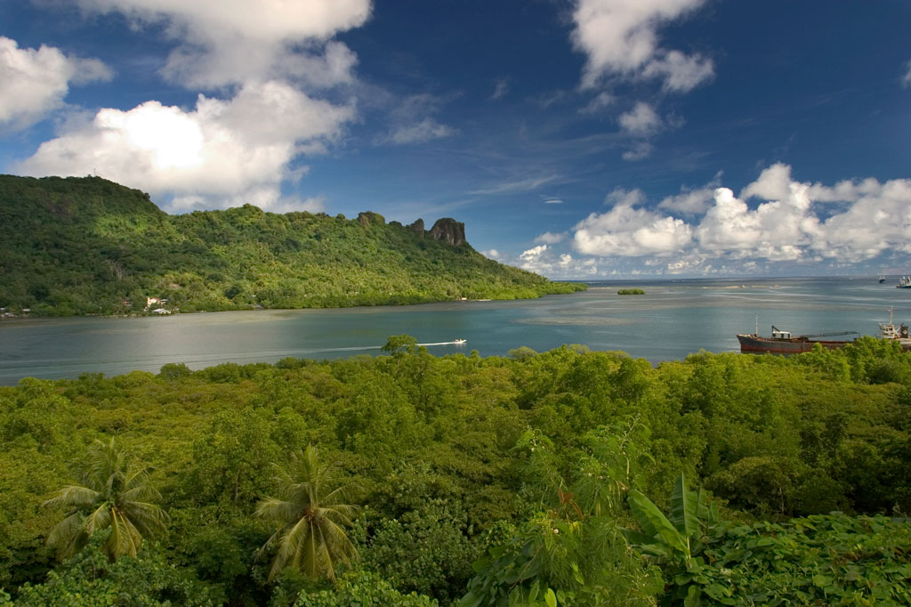 Distant Sokehs Island, Pohnpei, Federated States of Micronesia (FSM)