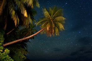 Star-gazing on Pohnpei's lagoon islands