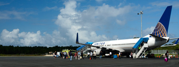 United Airlines on Pohnpei