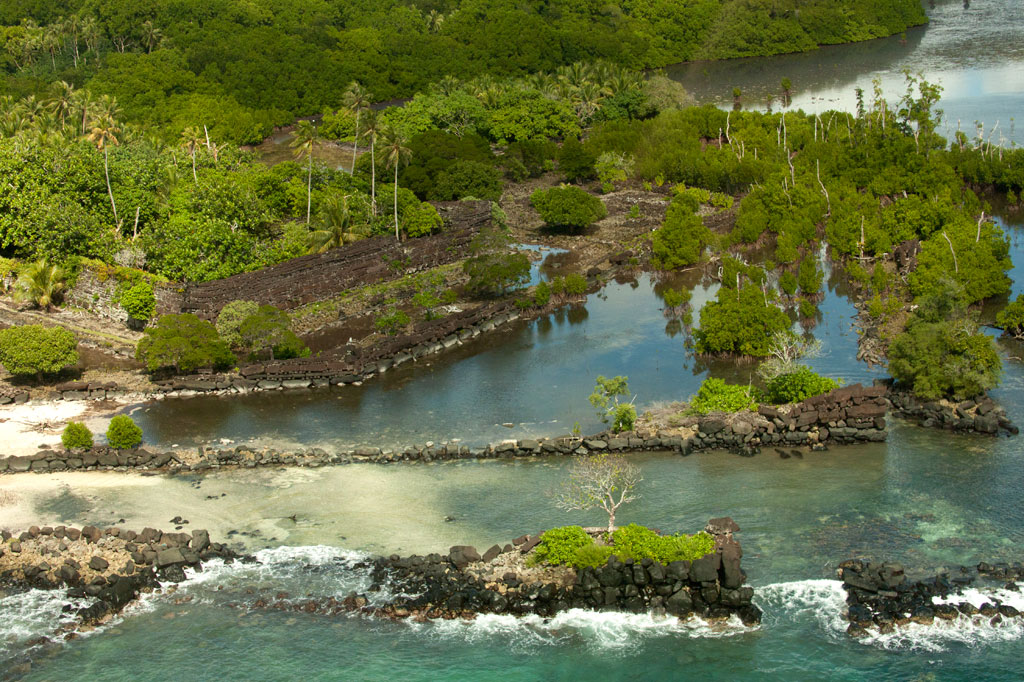 Nan Madol overhead view - Courtesy of www.pohnpei-adventure.com